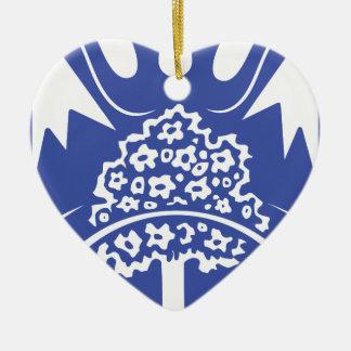 Batken_obl_coa Keramik Herz-Ornament