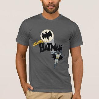 Batman anrufen Grafik T-Shirt