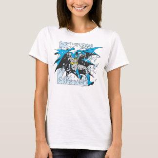 Batman birst durch Glas T-Shirt