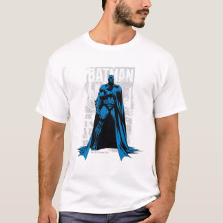 Batman-Comic - Vintages volles - Ansicht T-Shirt