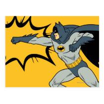Batman-Durchschlag Postkarte