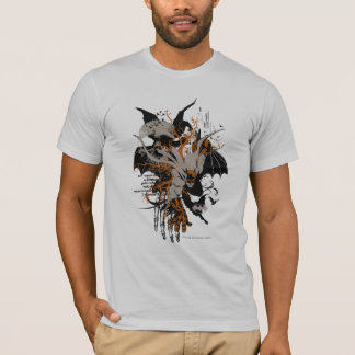 Batman et arbre t-shirt