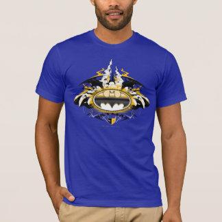 Batman-Logo mit Autos T-Shirt