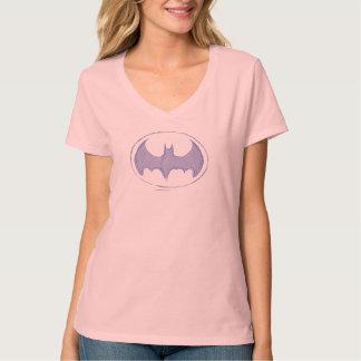 Batman-Symbol| Sketchbook-lila Logo T-Shirt
