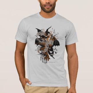 Batman und Baum T-Shirt