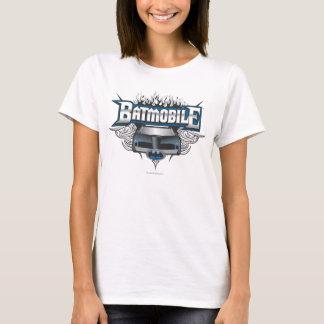 Batmanauto und -flammen T-Shirt