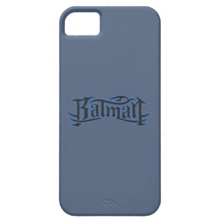 Batmanblau und -gotische Schriften Hülle Fürs iPhone 5