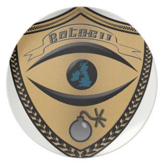 bats611-Logo-flat Melaminteller