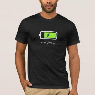 Batterie-Aufladungs-Ikonen-T - Shirt