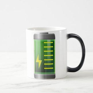 Batterie verwandeln Tasse - verwandelnde magische