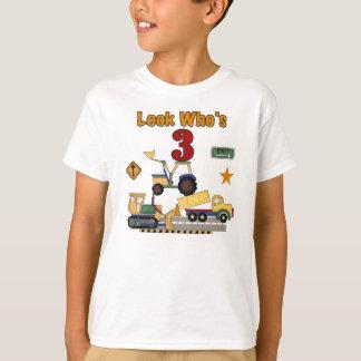 Bau-3. Geburtstag T-Shirt