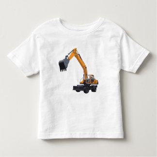 Bau-Bagger Kleinkinder T-shirt