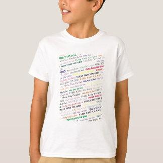 Bauen Sie völlig auf Gott T-Shirt