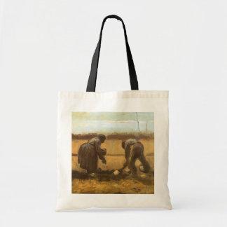 Bauern, die Kartoffeln durch Vincent van Gogh Tragetasche