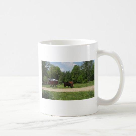 Bauernhof-Freunde Kaffeetasse