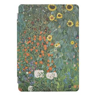 Bauernhof-Garten Gustav Klimt mit Sonnenblumen iPad Pro Cover
