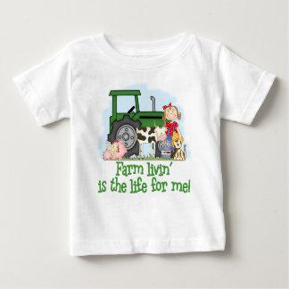 Bauernhof Livin (Mädchen) Baby T-shirt