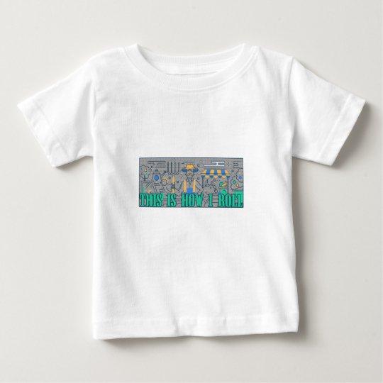 Bauers-Leben, wie ich lustiges rolle Baby T-shirt