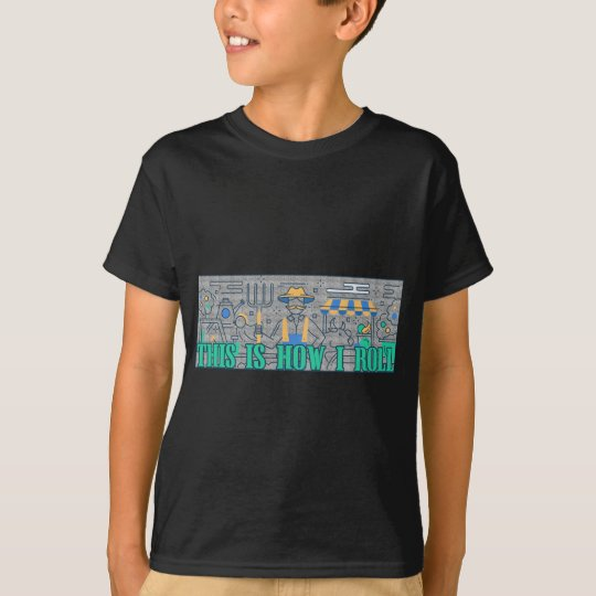 Bauers-Leben, wie ich lustiges rolle T-Shirt
