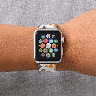 Baukegelmusterspaßapfel-Uhrenarmband Apple Watch Armband