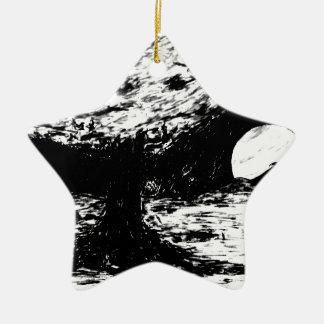 Baum auf Titanen Keramik Ornament