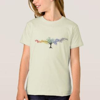 Baum der farbigen Schmetterlinge T-Shirt