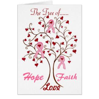 Baum der Hoffnung, der Liebe u. des Glaubens - Karte