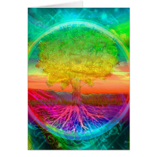 Baum der Leben-Wunder Karte