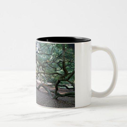 Baum der Lebenkaffee-Tasse Zweifarbige Tasse