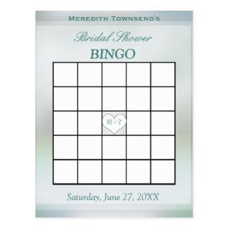 Baum des Bingo-Spiel-| des Lebens Postkarte