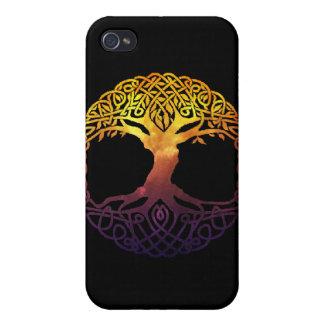 Baum des Leben-Speck-Kastens iPhone 4 Case