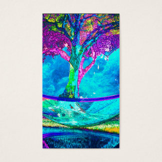 Baum des Lebens durch Amelia Carrie Visitenkarten
