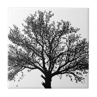 Baum des Lebens Kleine Quadratische Fliese