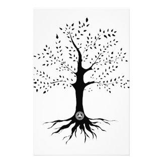 Baum des Lebens Personalisiertes Büropapier
