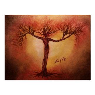 Baum des Lebens Postkarte