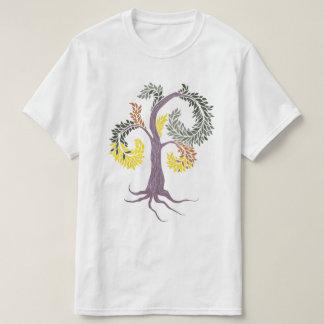 Baum durch die Abtei Pflege T-Shirt