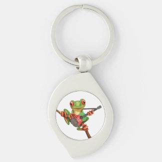 Baum-Frosch, der afghanisches Schlüsselanhänger