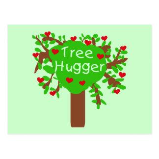Baum Hugger T - Shirts und Geschenke Postkarte