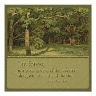 Baum Huggers CC0352 Shishkin Poster