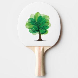 Baum-Klingeln Pong Paddel Tischtennis Schläger