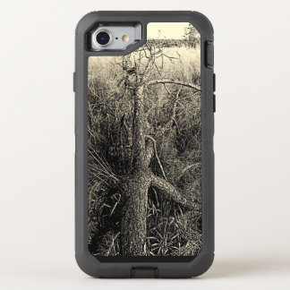 Baum-Landschaft OtterBox Defender iPhone 8/7 Hülle