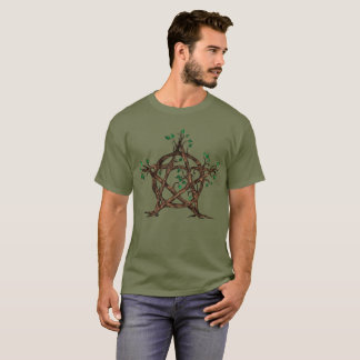 Baum-Pentagramm T-Shirt
