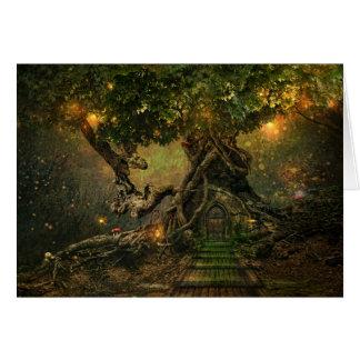 Baum scape Karte