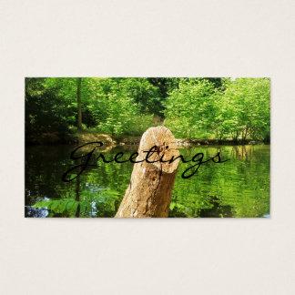 Baum-Stamm-Natur-Photography See-Park Visitenkarte