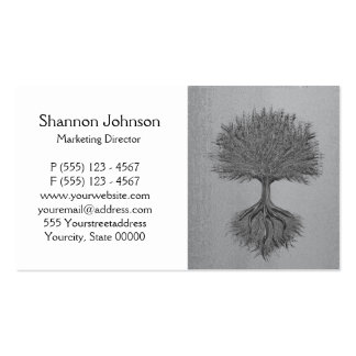 Baum von Leben-Chrom 2 Visitenkarten