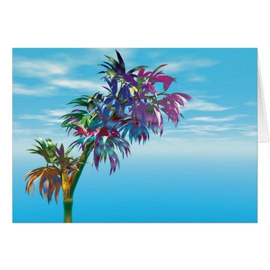Bäume des Paradieses #2 Grußkarte