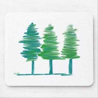 Bäume Mousepad