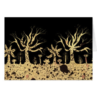 Bäume nachts karte