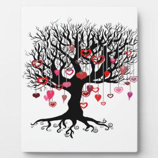 Baumelnde Liebe Schautafel