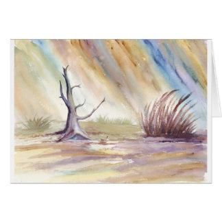 Baumstumpf in einem Sturm Karte